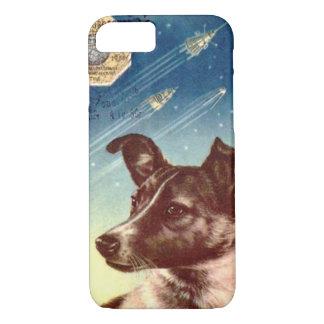 Laika der russische Raum-HundiPhone 7 Fall iPhone 8/7 Hülle