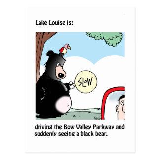 Lake Louise ist: eine Karte von Graham Harrop
