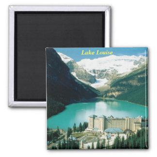Lake Louise, Kanada Quadratischer Magnet