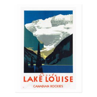 Lake- Louisekanadier Rockies Kanada Postkarte