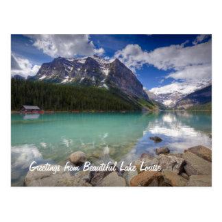 Lake- Louisepostkarten Postkarte