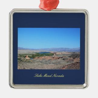 Lake Mead Nevada Silbernes Ornament