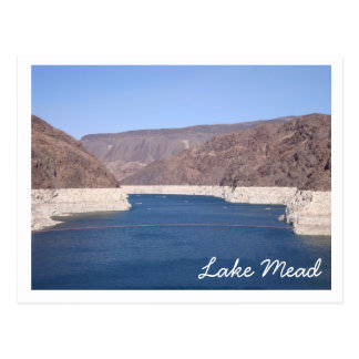 Lake Mead Postkarte