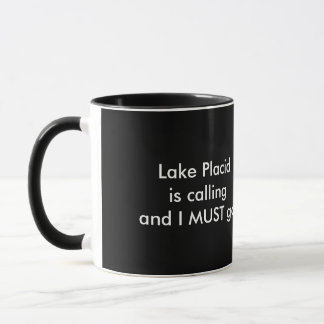 Lake Placid nennt - Snowmobile Tasse