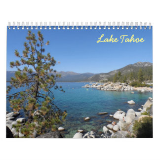 Lake Tahoe 2018 Kalender