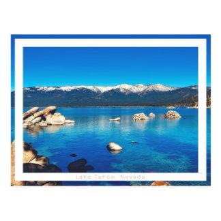 Lake Tahoe Postkarte