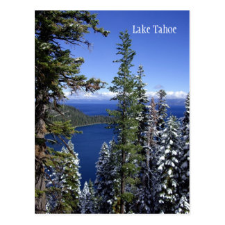 Lake- Tahoepostkarte Postkarte