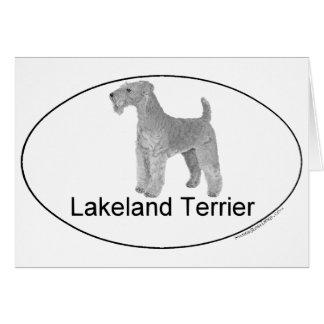 Lakeland Terrier Euro-Artig Karte
