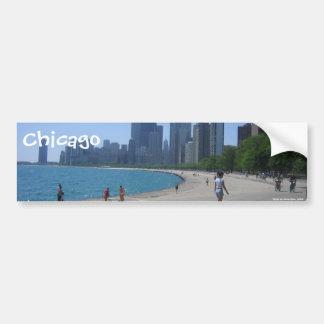 Lakeshore, Chicago, IL, Chicago, Foto durch A… Autoaufkleber
