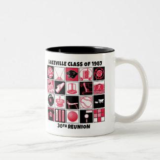Lakeville Klasse von Wiedersehen-Tasse 1987 Zweifarbige Tasse