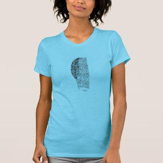 Lakota Gebet und Feder T-Shirt