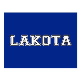 Lakota Postkarte