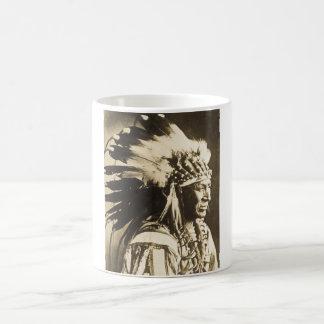 Lakota Sioux weißer hauptsächlichschwan Kaffeetasse