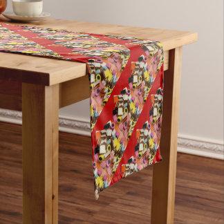 Lakritze alle Art-Süßigkeiten Kurzer Tischläufer