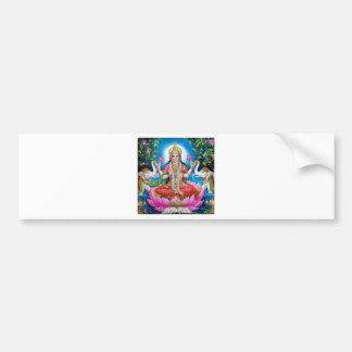Lakshmi Göttin der Liebe, des Wohlstandes und des Autoaufkleber