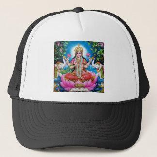 Lakshmi Göttin der Liebe, des Wohlstandes und des Truckerkappe