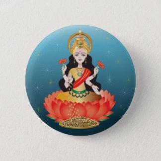 Lakshmi Runder Button 5,1 Cm