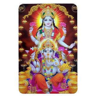 Lakshmi u Ganesha Magnet