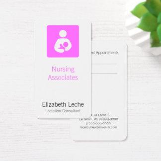 Laktierungs-Berater Visitenkarte