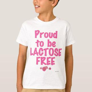 Laktosefrei - Rosa T-Shirt