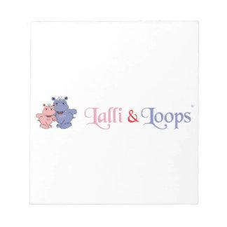 Lalli und Loops Artikel Notizblock