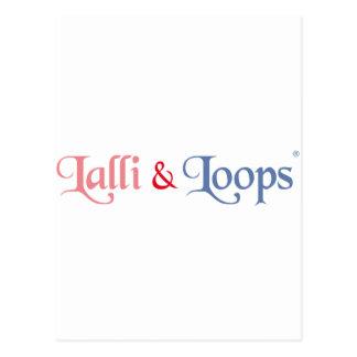 Lalli und Loops Artikel Postkarte