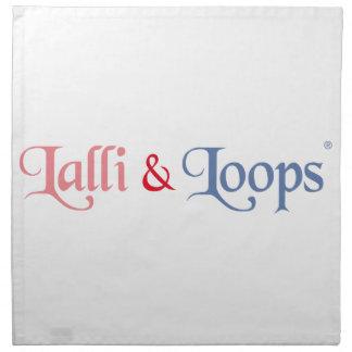 Lalli und Loops Artikel Serviette