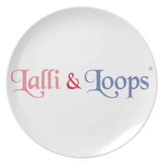 Lalli und Loops Artikel Teller