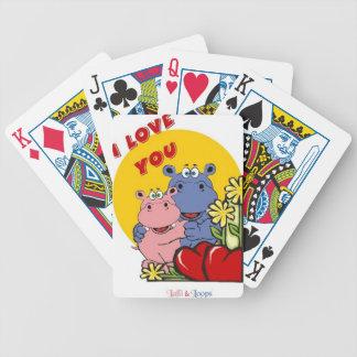 Lalli und Loops Bicycle Spielkarten