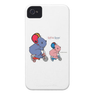 Lalli und Loops Case-Mate iPhone 4 Hüllen