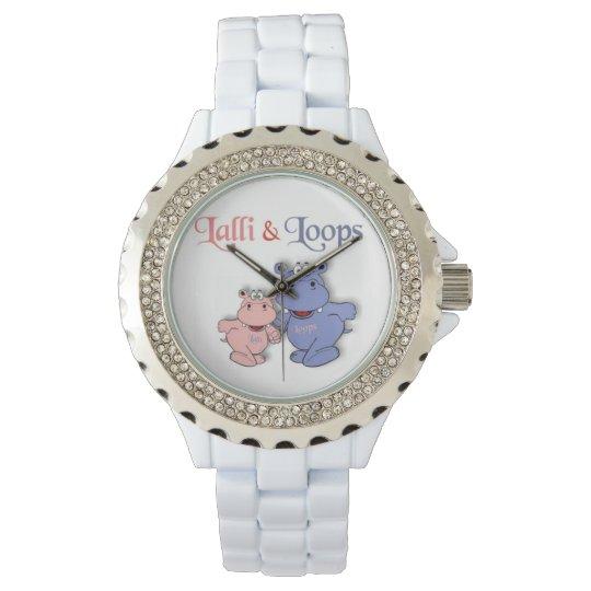 Lalli und Loops Damen Armband Uhr