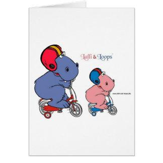 Lalli und Loops Grußkarte