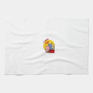 Lalli und Loops Handtuch