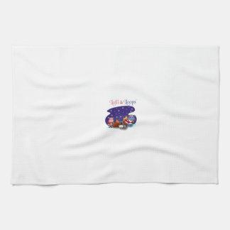 Lalli und Loops Handtücher