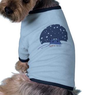 Lalli und Loops Hund T-shirt