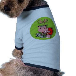 Lalli und Loops Hund T Shirt
