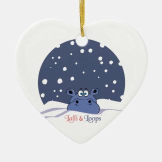 Lalli und Loops Keramik Herz-Ornament