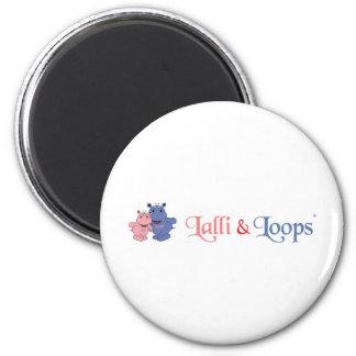 Lalli und Loops Kühlschrankmagnet