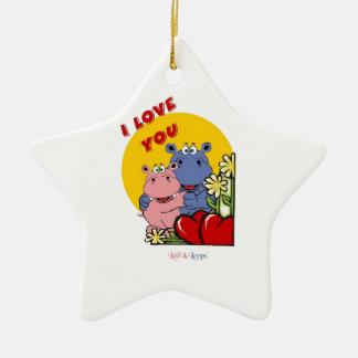 Lalli und Loops Ornament