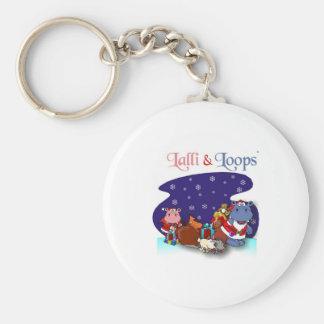 Lalli und Loops Schlüsselanhänger
