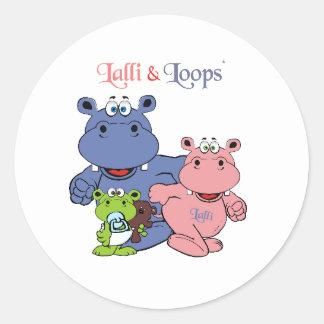 Lalli und Loops Stickers