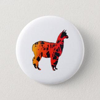 Lama-Ausdrücke Runder Button 5,1 Cm