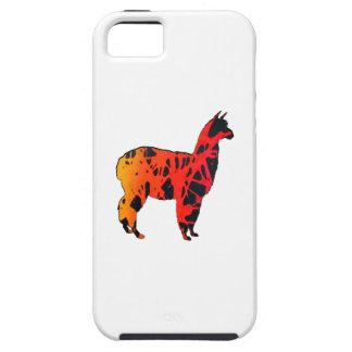 Lama-Ausdrücke Tough iPhone 5 Hülle
