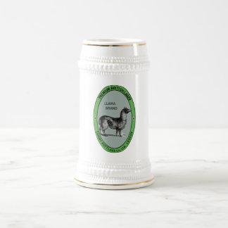Lama-Bier Stein Bierglas