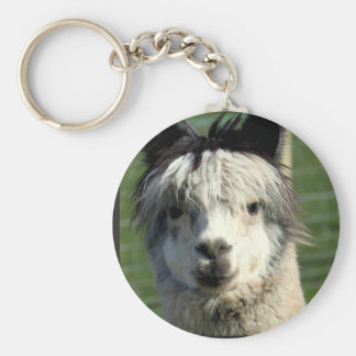 Lama-Gesicht Keychain Schlüsselanhänger