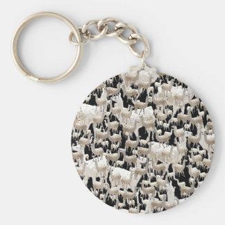 Lama-Lama und mehr Lamas Schlüsselanhänger
