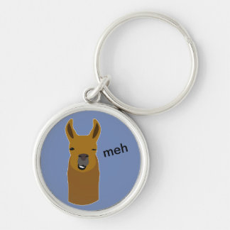Lama-lustiges Gesicht Schlüsselanhänger
