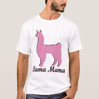 Lama-Mutter T-Shirt
