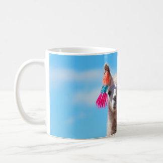 Lama-niedliche Kaffee-Tasse Kaffeetasse