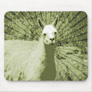 Lama-Pop-Kunst Mousepad